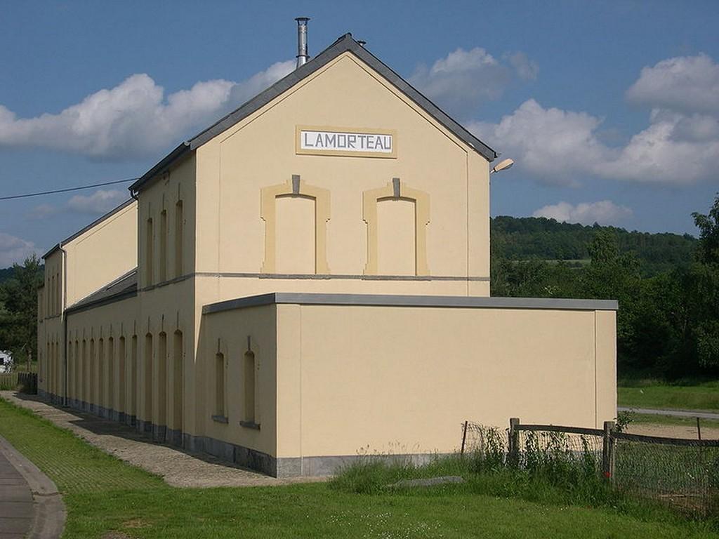 Lamorteau - L'ancienne gare