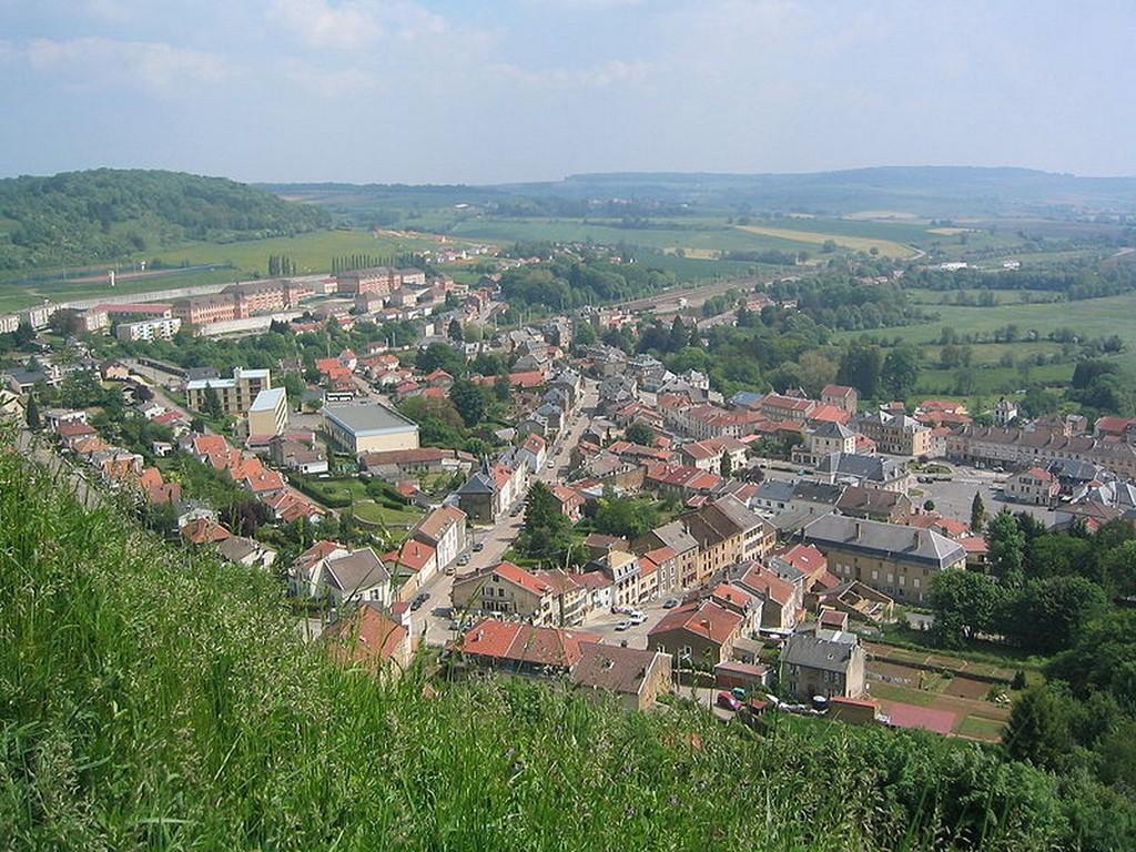 Montmédy - Vue depuis la citadelle