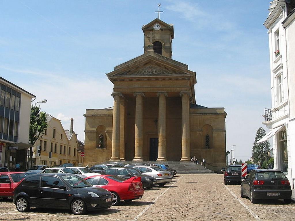 Virton - L'église Saint-Laurent