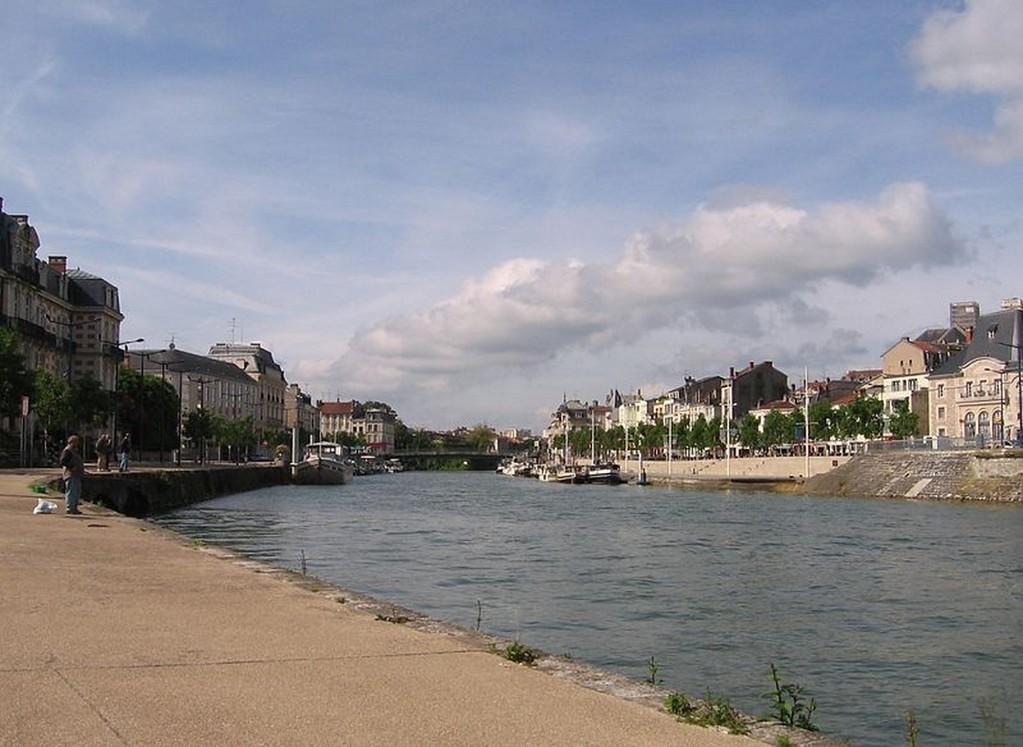Verdun - Vue de la Meuse