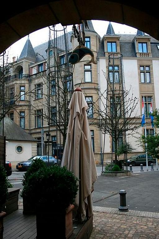Luxembourg-Ville - Le palais grand Ducale