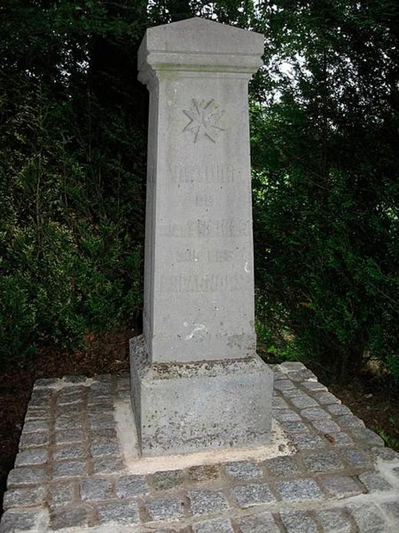 Rocroi - Stèle de la bataille