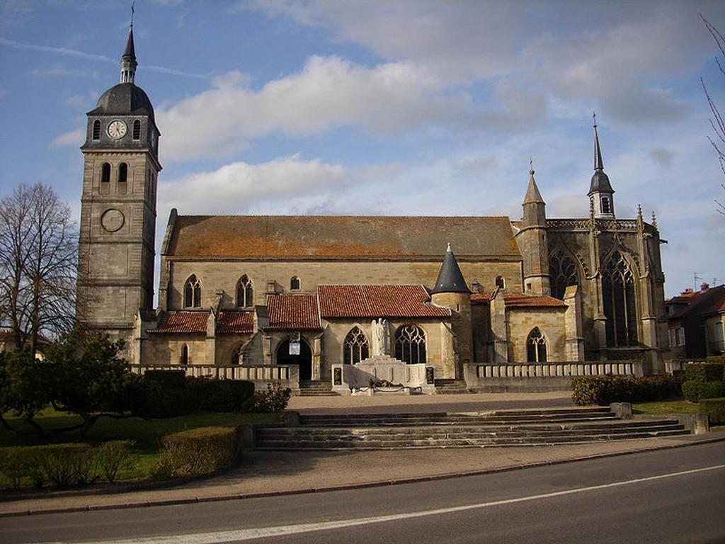 Etain - L'église Saint-Martin
