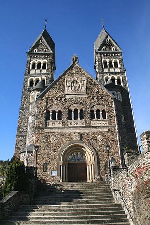 Clervaux - L'église décanale des Saints Cômes et Damien