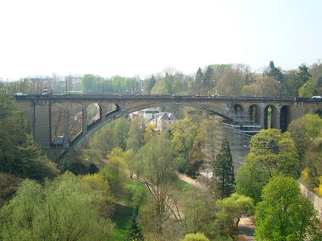 Luxembourg-Ville - Le pont Adolphe