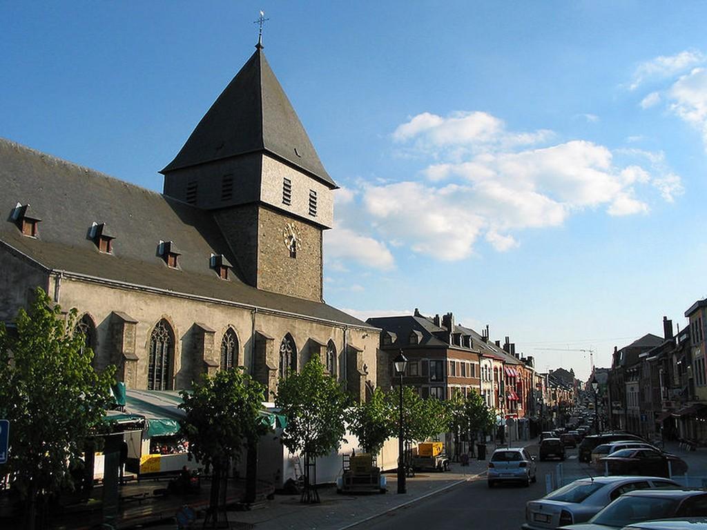 Bastogne - L'église Saint-Pierre