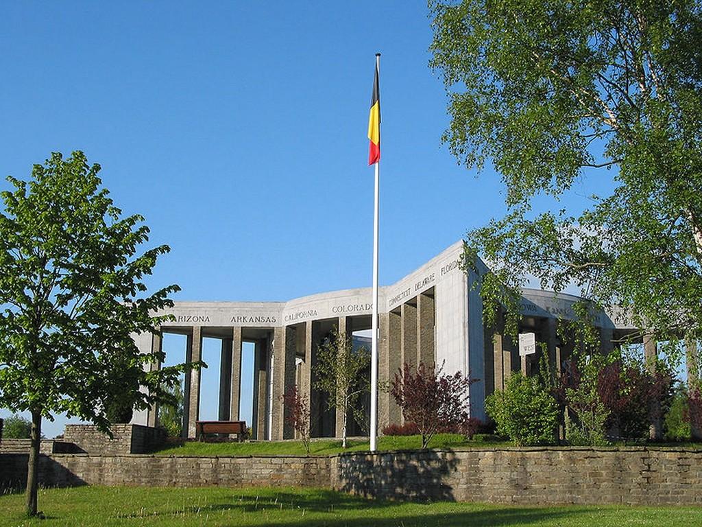 Bastogne - Le mémorial du Mardasson