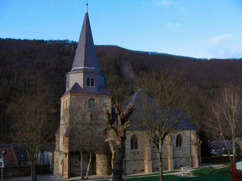 Monthermé - L'église Saint-Léger