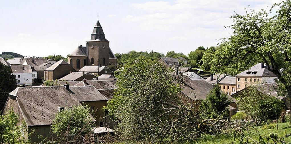 Sainte-Cécile - Autre vue du village