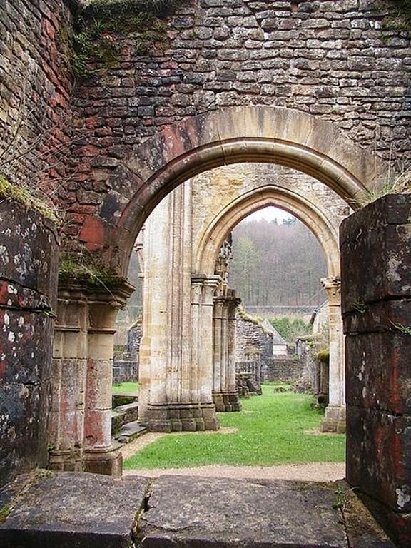 Orval - Ruine de l'Abbatiale