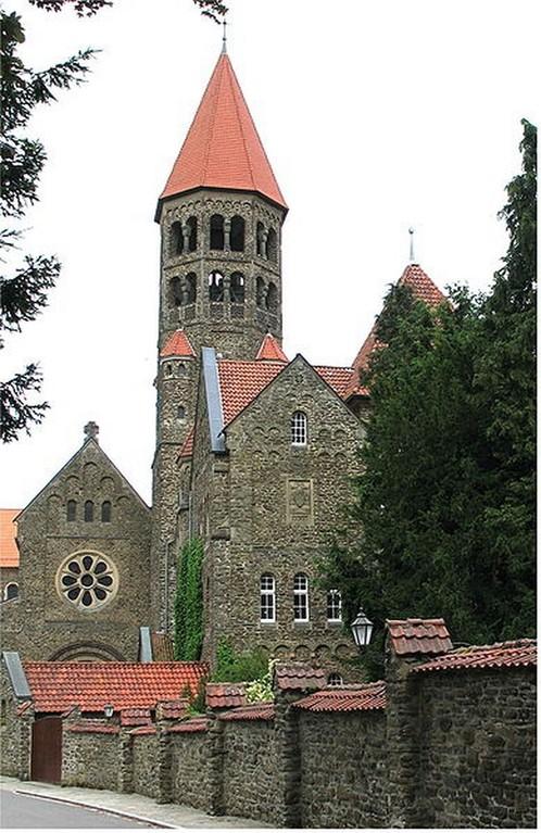 Clervaux - L'église bénédictine Saint-Maurice-et-Saint-Maur