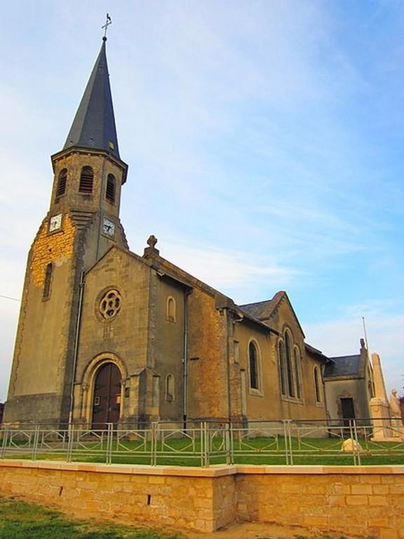 Azannes - L'église