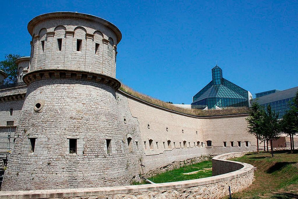 Luxembourg-Ville - Le fort Thüngen de Luxembourg-Ville