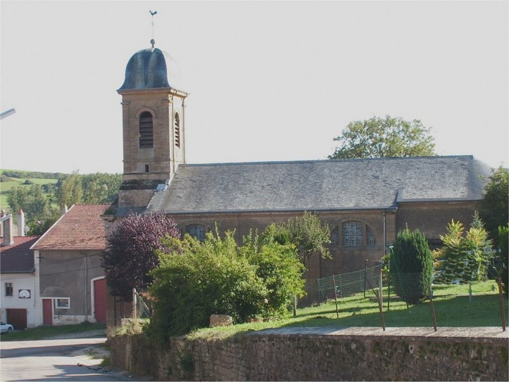 Ecouviez - L'église Saint-Michel