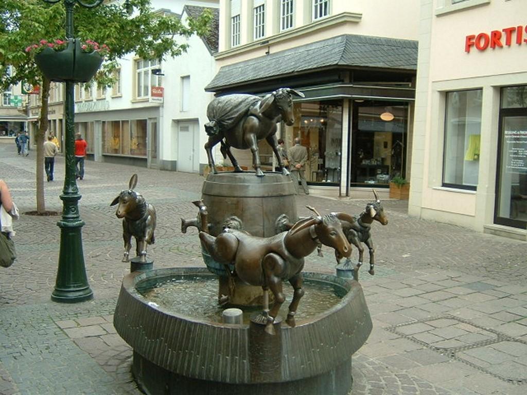 Diekirch - Fontaine des ânes