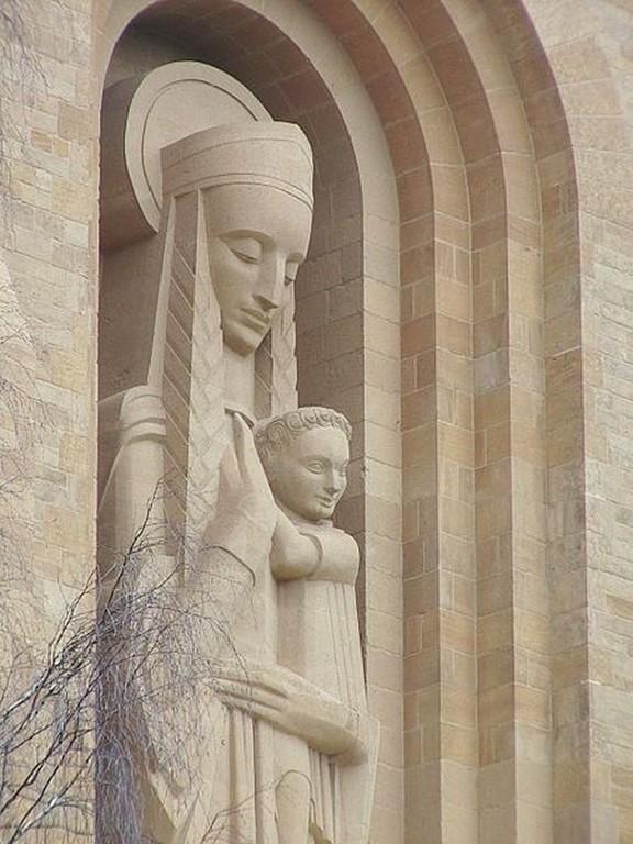 Orval - Statue de N-D d'Orval
