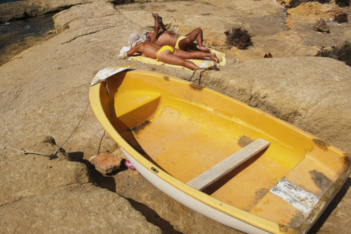 Mathieu Guillochon, photographe, rivages, couleurs, mer, méditerranée, cabo de gata, rouge, bleu, jaune, Andalousie, Espagne