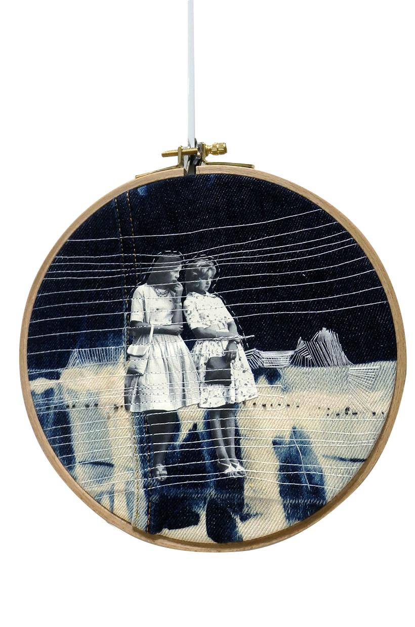 MESSE BASSE ('shibori', collage, couture, broderie)