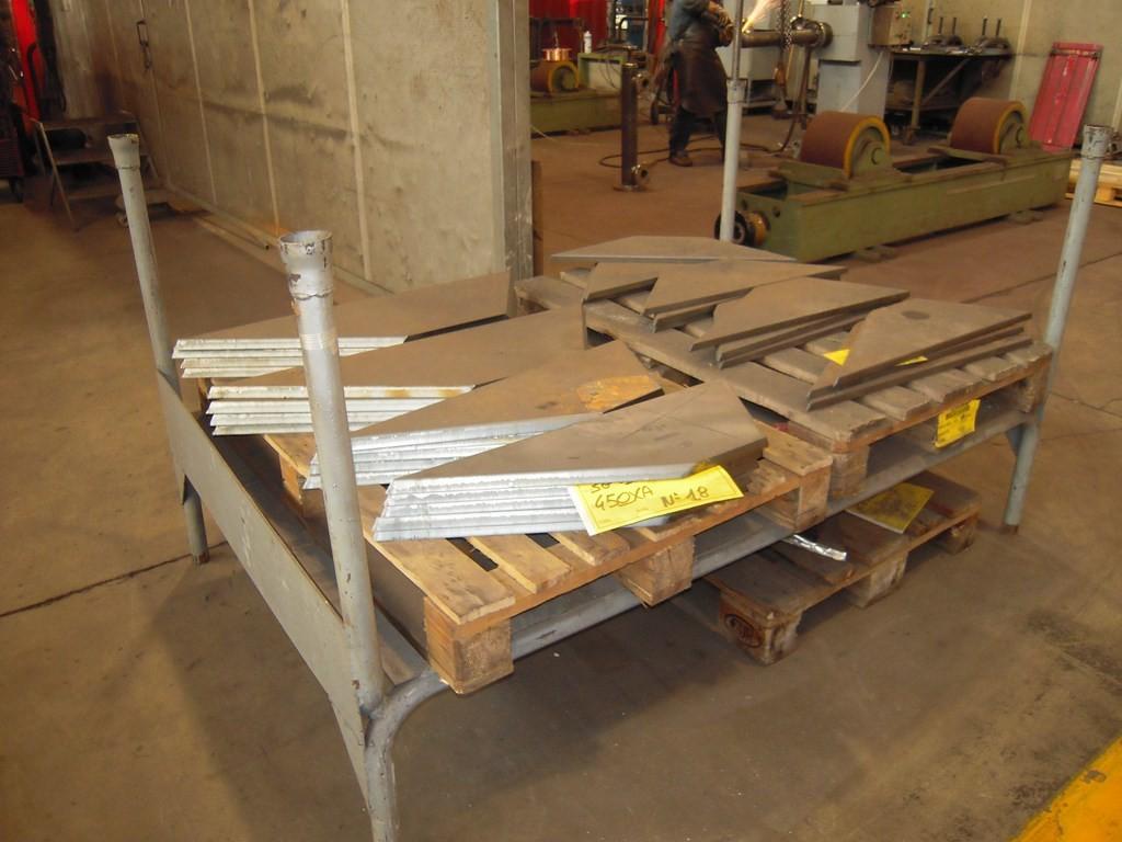 Squadrette di collegamento tra la parte della piastra tubiera (in camera del vapore) e la parte del mantello.
