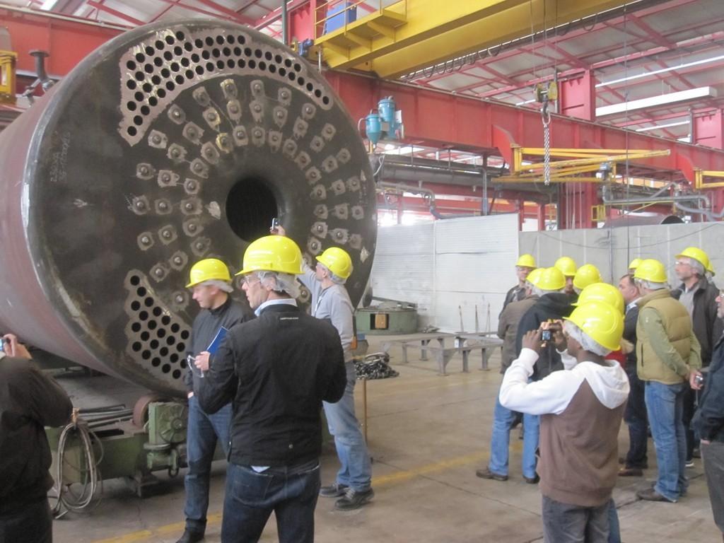 Stabilimento di produzione Ferroli-Industrialboilers.