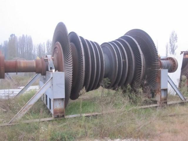 Rotore turbina centrale termoelettrica 160 MW