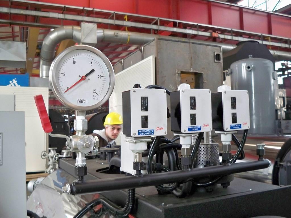 Linea manostatica generatore Ferroli
