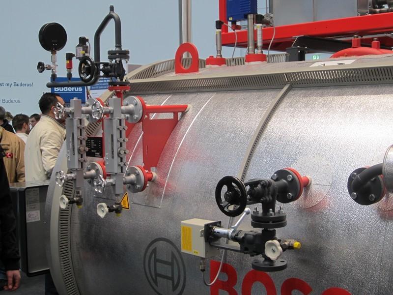 NOVITA' 2013: BOSCH Generatore di vapore a 4 giri di fumo (integraazione con cogeneratore).