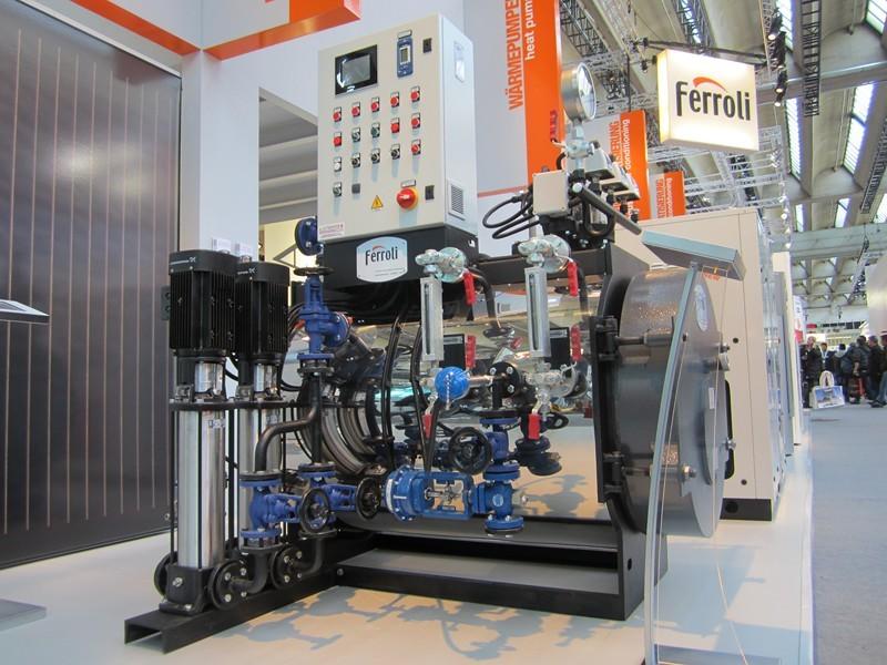 Ferroli: piccolo generatore di vapore ISH-2013