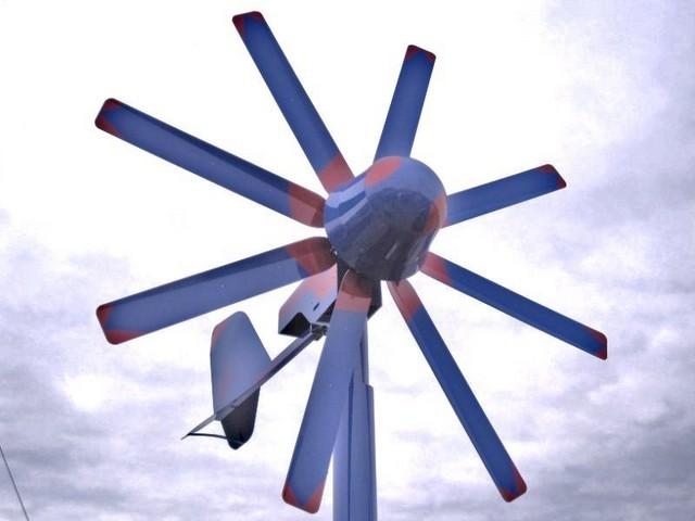 Energia meccanica dipendente dal meteo. Generatore eolico.