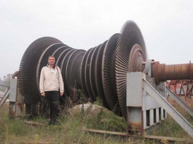 Rotore turbina: come un generatore eolico, ma con il vento a comando!