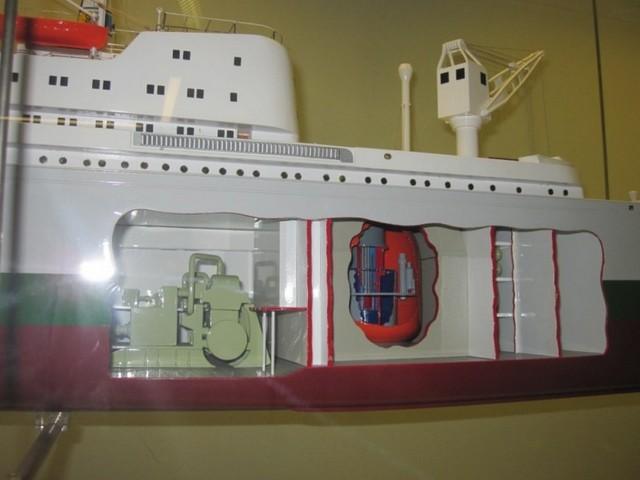 Caldaia speciale: il reattore nucleare! (propulsione navale)