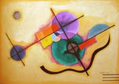 Pastel à l'huile sur papier.  Format: 100x80 cm