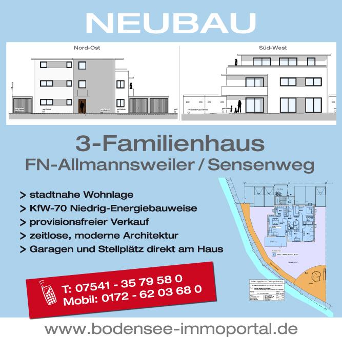 Baubanner Design by Winghardt