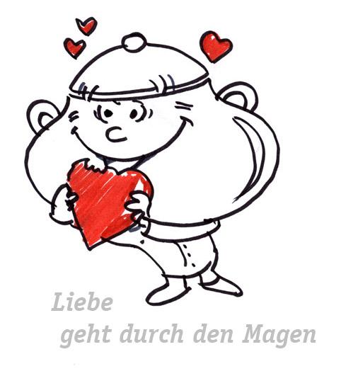Zeichnung Christine Winghardt Friedrichshafen