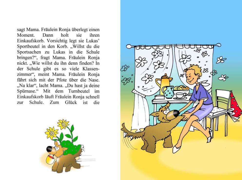Zeichnungfür Fräulein Ronja by Winghardt 2