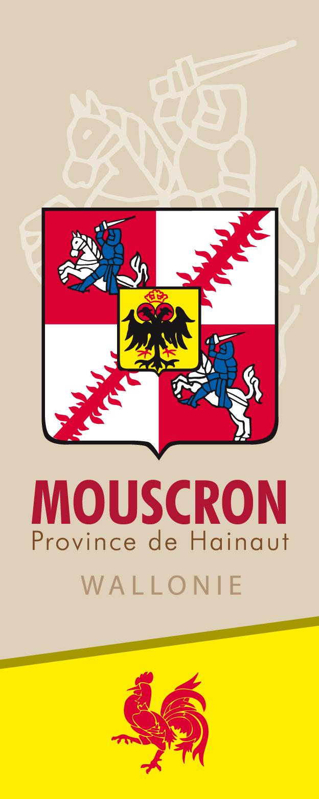 Fahne Mouscron