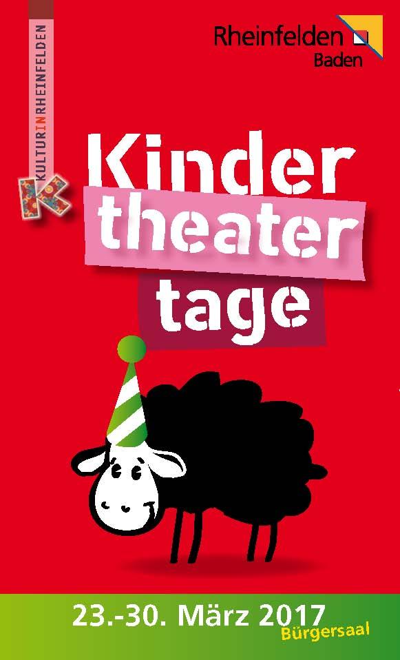 Kindertheatertage Rheinfelden Plakat von Christine Winghardt Friedrichshafen