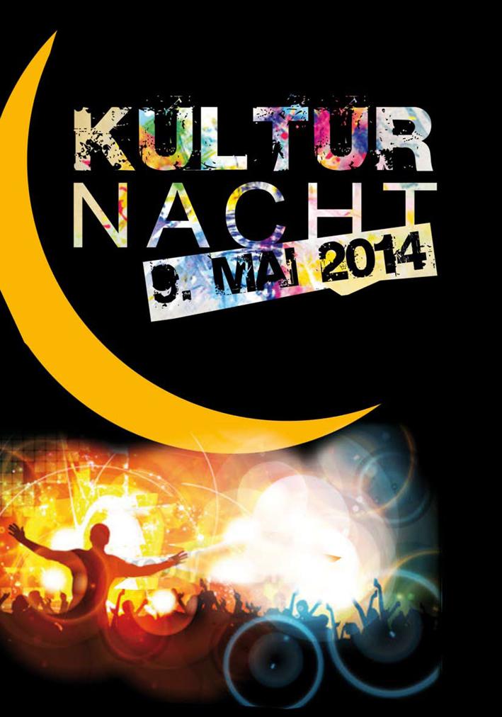 Kulturnacht Plakat von Christine Winghardt Friedrichshafen