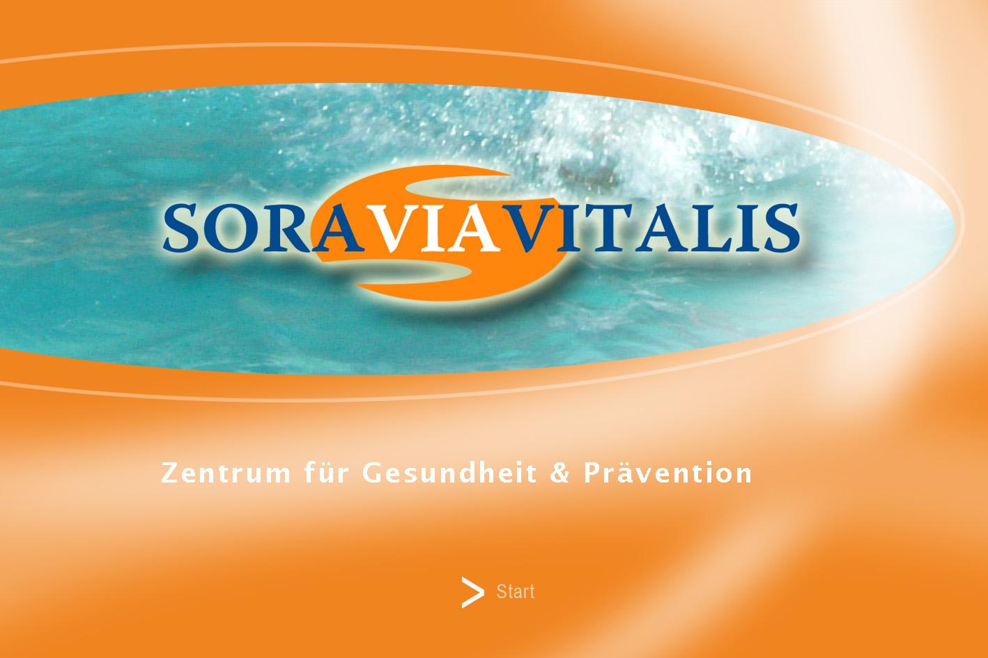 Soravia Firmenschild Design by Winghardt