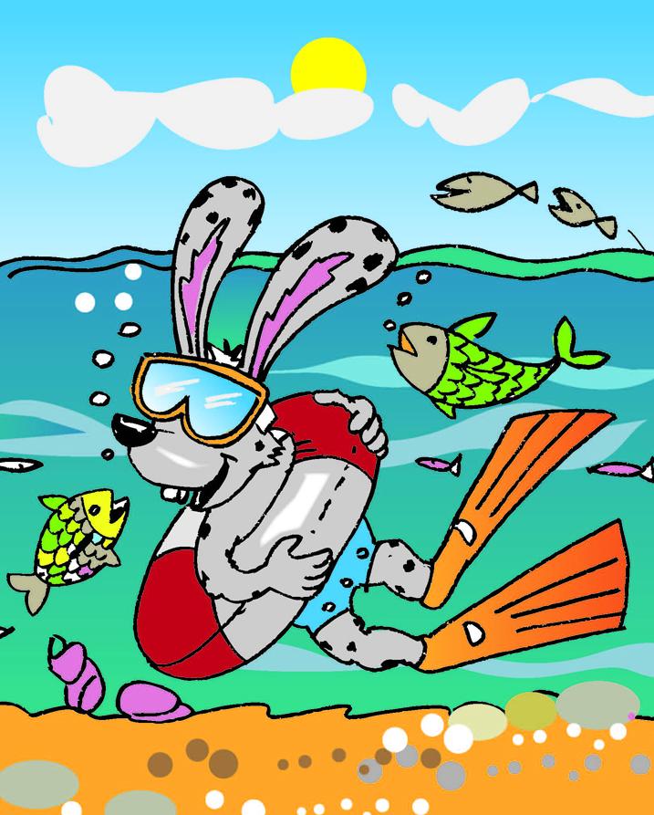 Zeichnung Seehasenfest