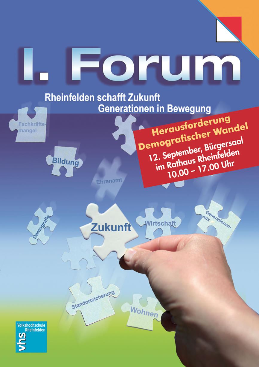 Rheinfelden Forum Plakat von Christine Winghardt Friedrichshafen