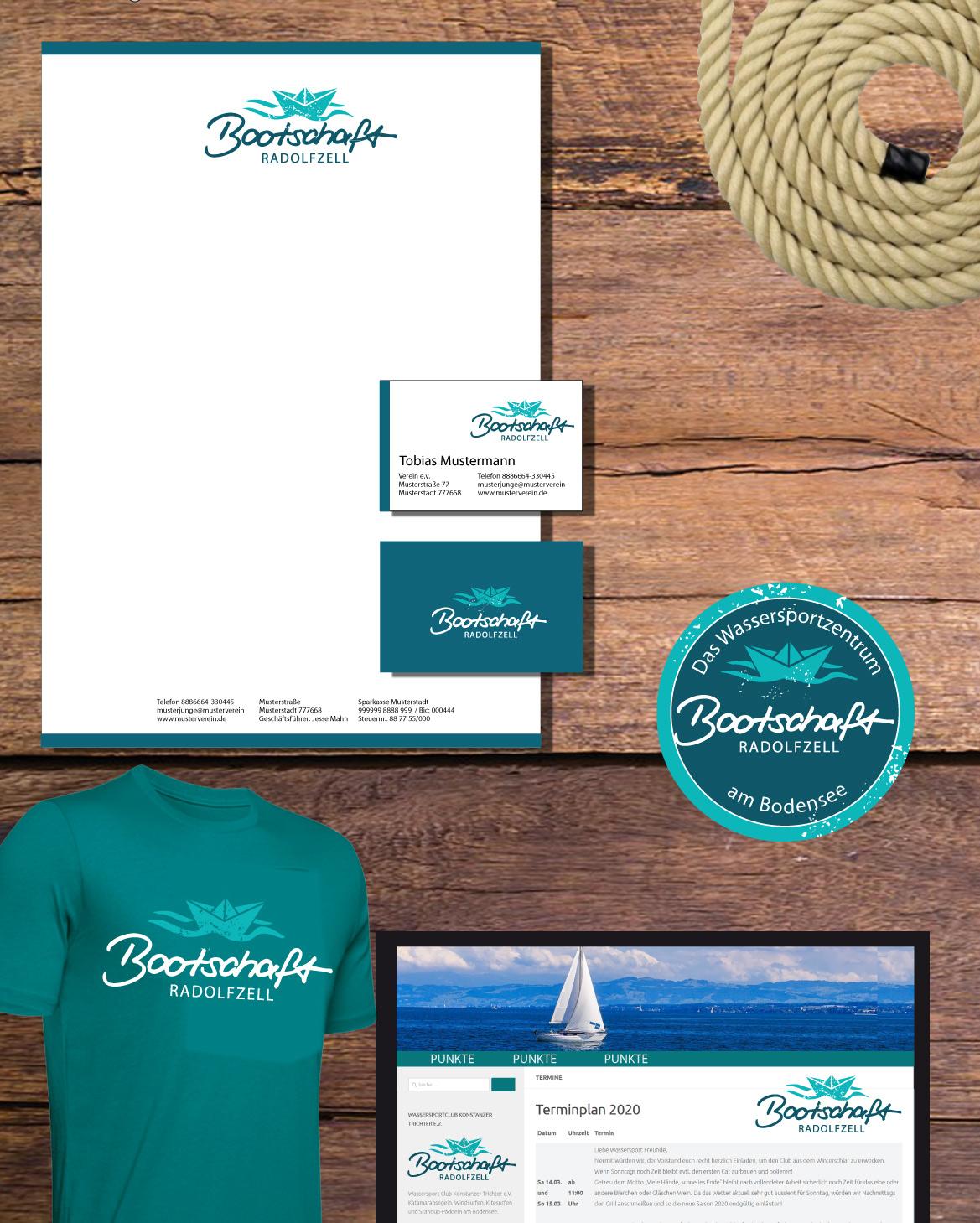 Bootschaft Photoshop Visualisierung Christine Winghardt