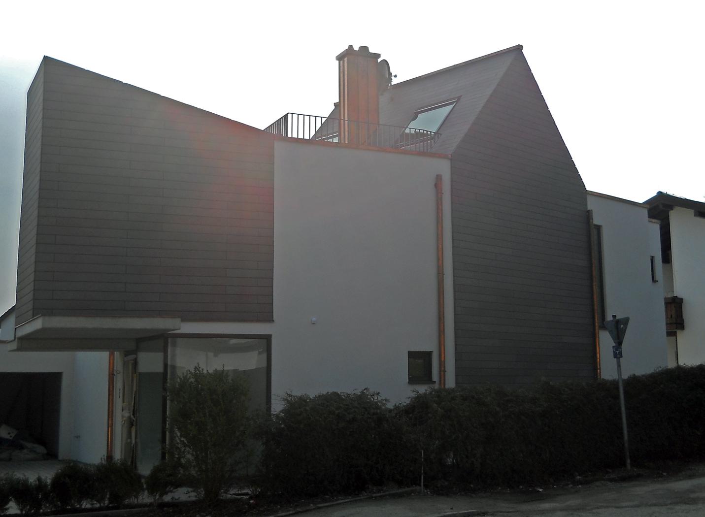 Fassadenverkleidung mit Öko Skin