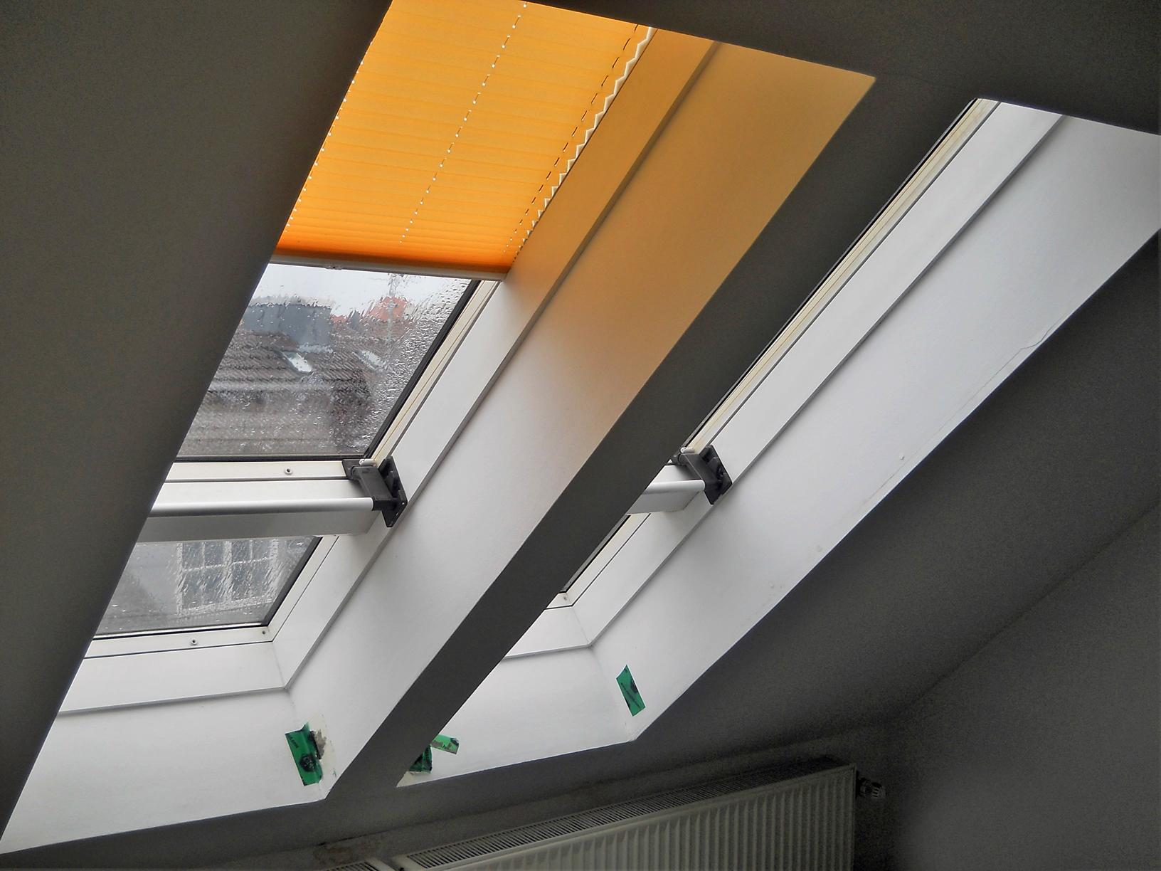 Undichte Galeriefenster vor dem Austausch