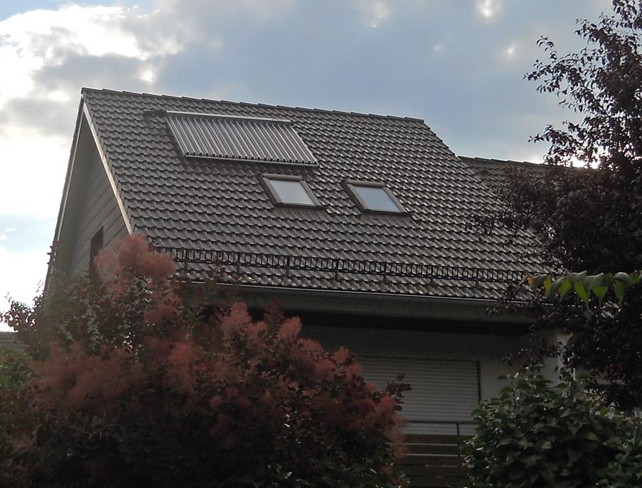 Dachsanierung mit Aufsparrendämmung