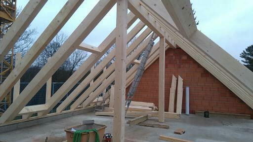 Satteldach mit Dachgauben