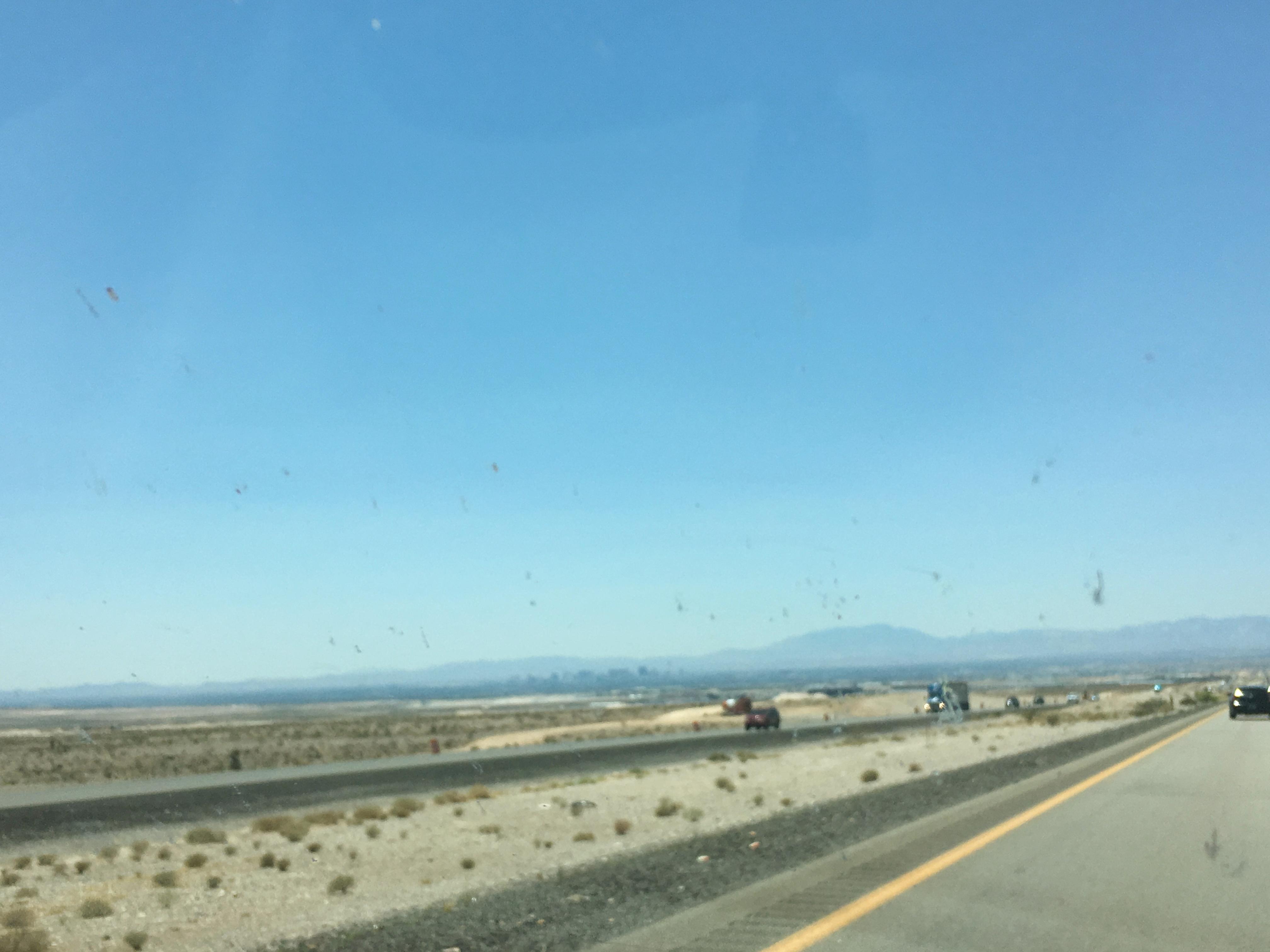Unter der Dunstglocke liegt Las Vegas