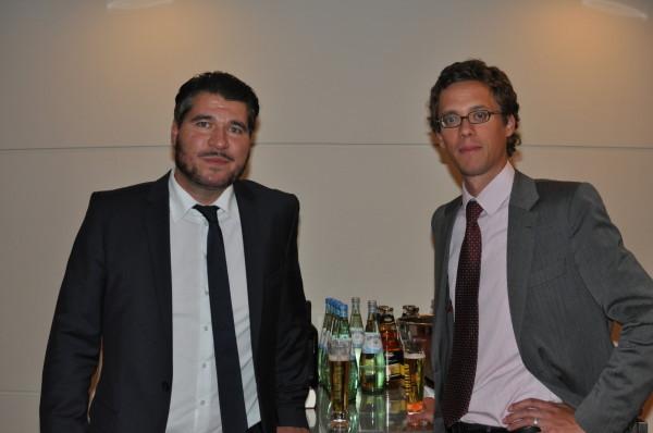 RA Schüller und Prof. Dr. Lehmann-Richter