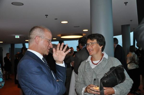 RA Prof. Dr. Hubert Schmidt und VizPräsAG Dr. Flatow