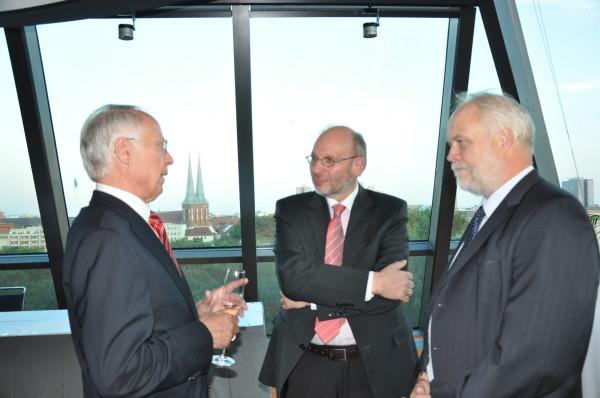 RiBGH a.D. Dr. Beyer, RA Reinhardt, Peter Schmarsow